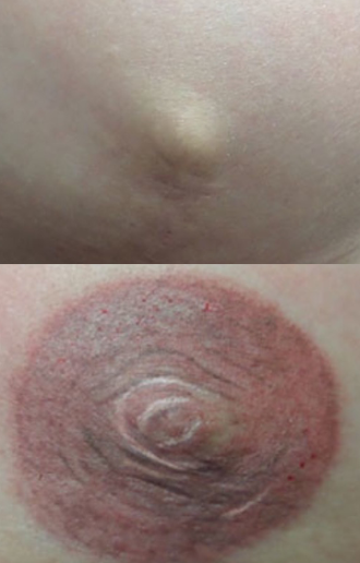 Fabulously flawless permanent cosmetics for 3d nipple tattoo